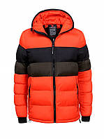 Мужская зимняя дутая куртка