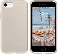 Чехол Silicone Case Full для iPhone SE2 /SE 2020 stone
