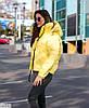 Женская зимняя куртка. Ткань - плащевка плотная аляска. Цвет- фуксия, сирень,ярко желтый,черный., фото 10