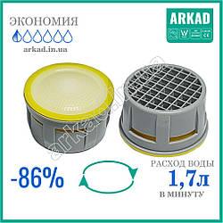 Аэратор для крана смесителя для экономии воды Terla Freelime А17Т- 1,7л/мин