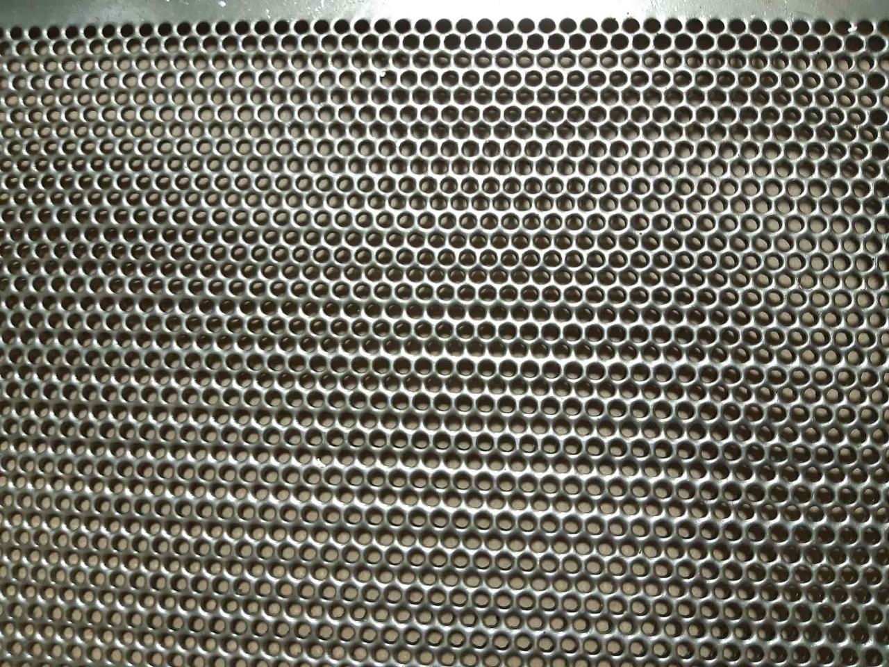 Друшляк (сито) 790х990 товщина 0,8* 2 \ 2,2 \ 2,5 \ 2,8 \ 3 мм діамет кр