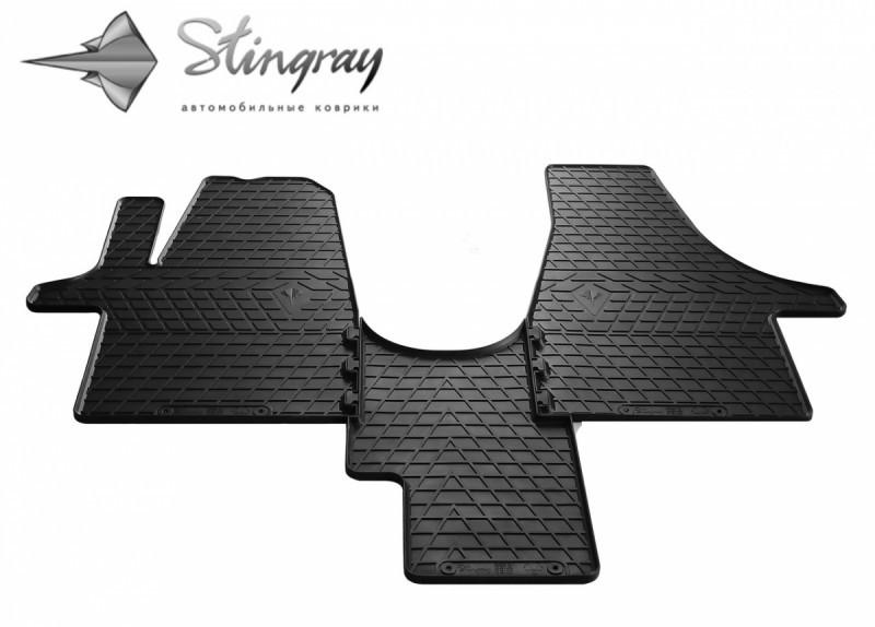 Резиновые коврики в автомобиль Volkswagen T5 (1+1) 2003- (Stingray)
