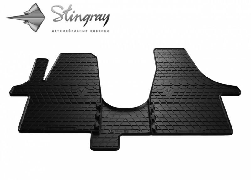 Резиновые коврики в автомобиль Volkswagen T5 (1+2) 2003- (Stingray)