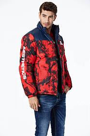Мужская двухсторонняя плотная еврозимняя куртка