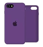 Чехол Silicone Case Full для iPhone SE2 /SE 2020 purple