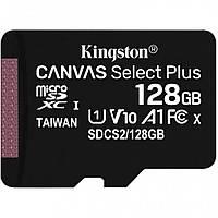 Карта пам'яті Kingston Canvas Select Plus microSD 128Gb Class 10 А1 UHS-1