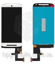 Дисплейный модуль (дисплей + сенсор) для Motorola Moto G2 XT1062, XT1063, XT1064, XT1068, оригинал