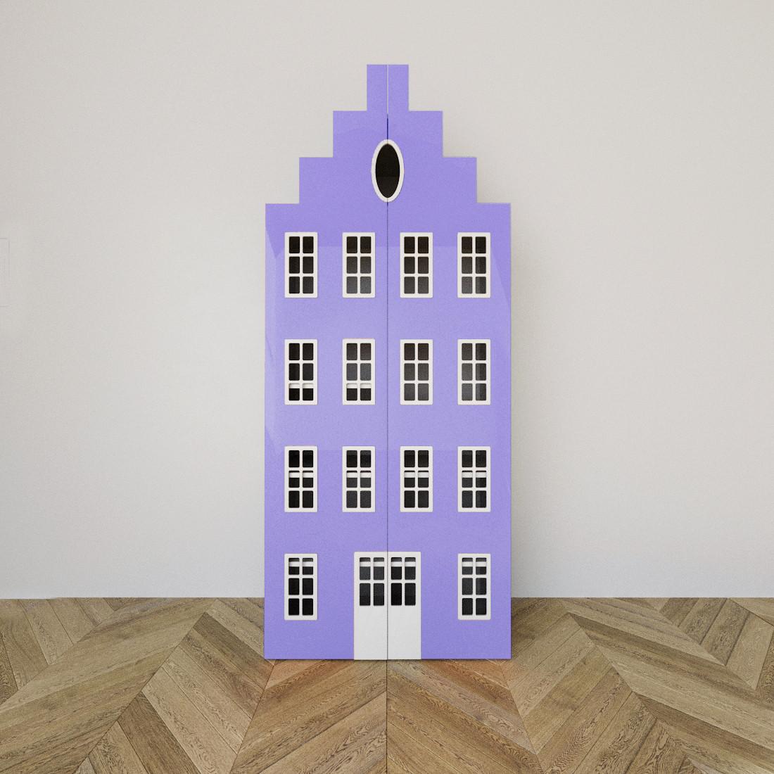 Дитяча шафа Амстердам Dutch фіолетова