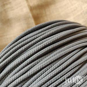 Шнур полипропиленовый (плетеный) 3 мм - 10 метров Серый