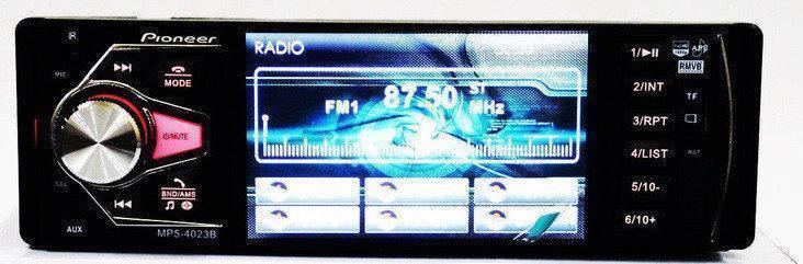 Автомагнитола 1DIN MP5-4023BT   Автомобильная магнитола   RGB панель + пульт управления
