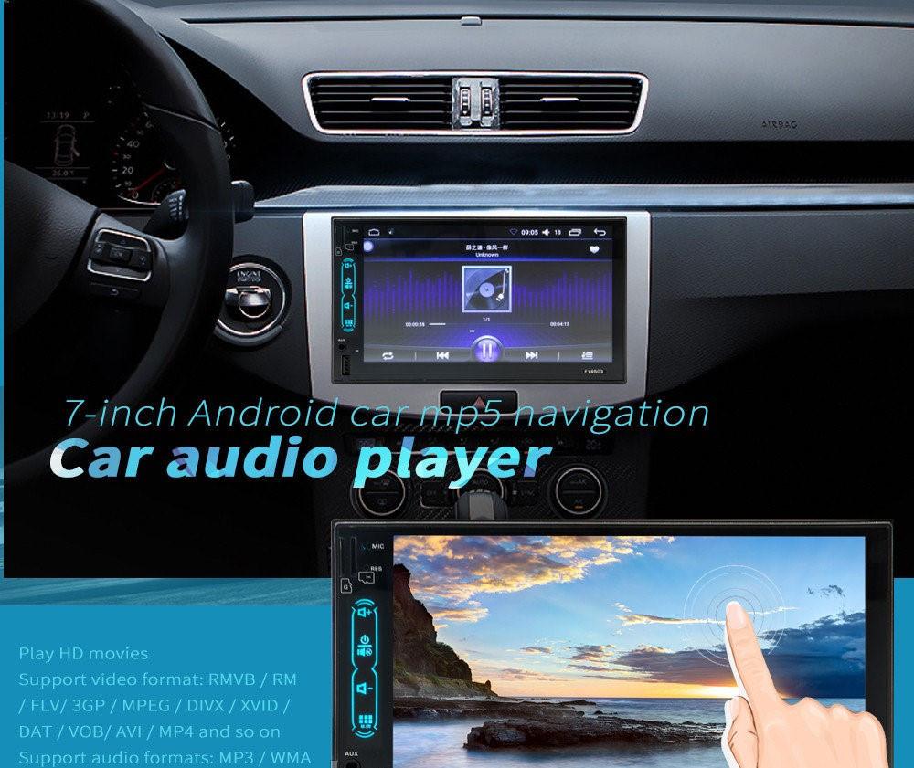 Автомагнитола MP5 2DIN 6503-SU Android GPS (без диска)   Автомобильная магнитола
