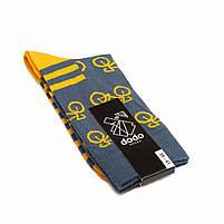 Носки женские Dodo Socks Rover 36-38 Сине-желтые, фото 2