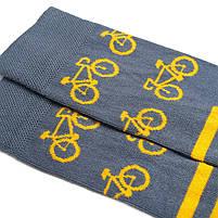 Носки женские Dodo Socks Rover 36-38 Сине-желтые, фото 3
