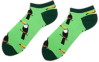 Носки короткие мужские с принтом Sammy Icon Rio Short 40-46 Салатовые, фото 2