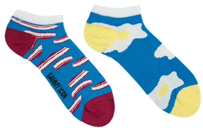 Мужские носки короткие Sammy Icon Brekker short 40-46 Синие
