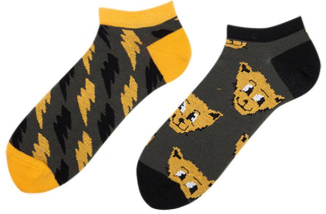 Короткие носки женские Sammy Icon Thundercat Short 36-40 Серые