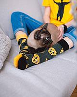 Женские носки Sammy Icon Thundercat 36-40 Желто-Серые, фото 2
