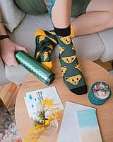 Женские носки Sammy Icon Thundercat 36-40 Желто-Серые, фото 3