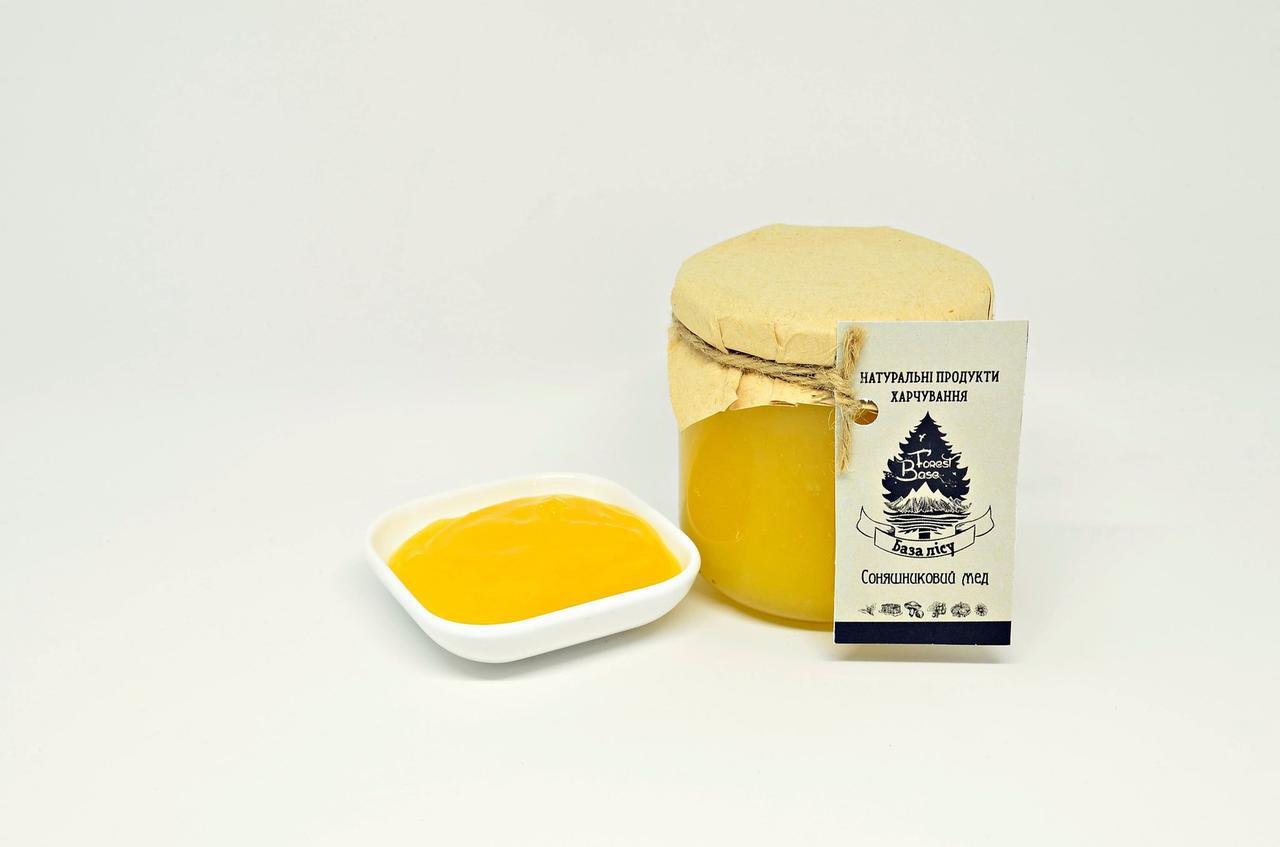 Соняшниковий мед 550 мл