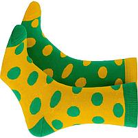 Носки с принтом женские Mushka Avo-avocado (DGY001) 36-40 Желто-зеленые, фото 2