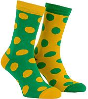 Носки с принтом женские Mushka Avo-avocado (DGY001) 36-40 Желто-зеленые, фото 3