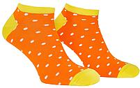 Носки мужские короткие Mushka Apelsinka mini (DOWM01) 41-45 Оранжевые, фото 3