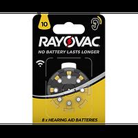 Батарейка для слуховых аппаратов RAYOVAC DA10 BLI 8