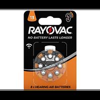 Батарейка для слуховых аппаратов RAYOVAC DA13 BLI 8