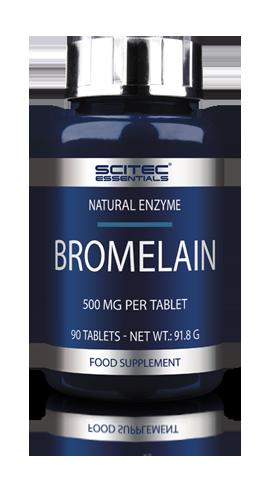 Жиросжигатели, Липотропики Scitec Essentials Bromelain 90 tablets