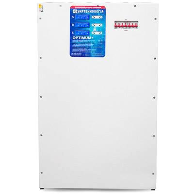 Стабилизатор напряжения Укртехнология 15 кВА OPTIMUM + 5000(HV)х3 Трехфазный