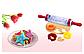 "Скалка для теста ""Roll and Store Pin"" + формочки для печенья 9 шт, фото 9"