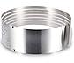 Форма — кільце розсувне для рівного нарізки коржів з нержавіючої сталі (6 відсіків) Benson BN-1035, фото 5