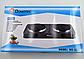Электроплита DOMOTEC MS-5822 дисковая на 2 конфорки   электрическая плита настольная, фото 4