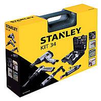 Пневматичний набір з 34 інструментів Stanley Kit 34 (8221074STN)