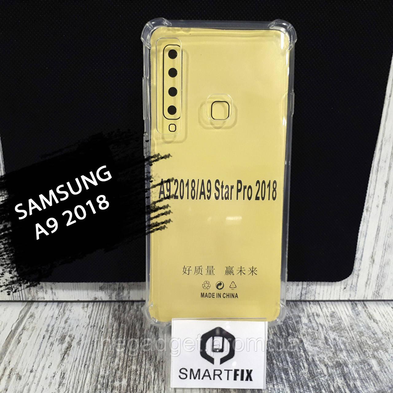 Протиударний чохол для Samsung A9 2018 WDX Прозорий
