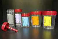 FL Medical Емкость для сбора мочи 60 мл, стерильная