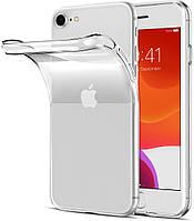 Чехол силиконовый для iPhone SE2 /SE 2020 ультратонкий прозрачный