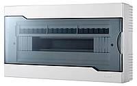 Бокс под автоматы наружный 18-х модульный с прозрачной крышкой Lezard 730-2000-018