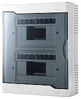 Бокс под автоматы наружный 16-х модульный с прозрачной крышкой Lezard 730-2000-016