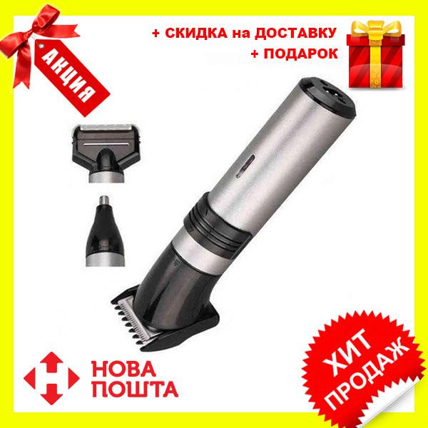 Мужская электробритва Kemei KM 1210 3 в 1   триммер   машинка для стрижки волос
