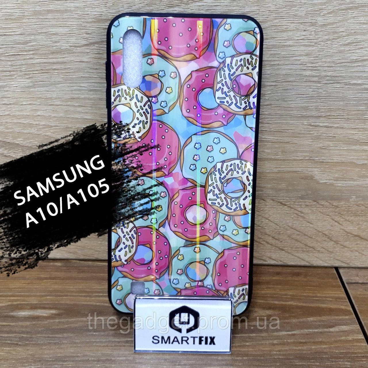 Чехол с рисунком для Samsung A10