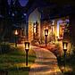 Уличный фонарь на солнечной панели TIKI Light | садовый фонарь с эффектом живого огня, фото 3