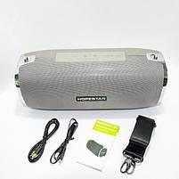 Портативная Bluetooth колонка SPS Hopestar A6, Серая, фото 4