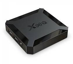 Приставка для телевизора Allwinner X96Q H313, 1GB RAM, 8GB ROM, на базе ОС Android 10, черная