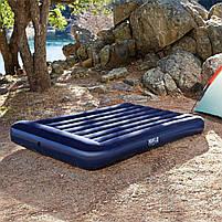 Матрас надувной полутораместный Bestway 67681, синий, фото 5