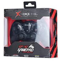 Беспроводной геймпад, джойстик, игровой контроллер XTRIKE ME GP-42, черный, фото 4