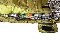 Спальный мешок одеяло Tramp Sherwood Long TRS-054L Right, фото 3