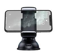 Автодержатель, крепление для телефона в машину JOYROOM JR-OK1, черно-серый, фото 2