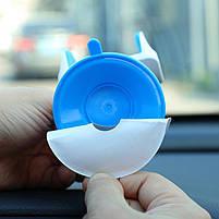 Автодержатель, крепление для телефона в машину JOYROOM JR-OK1, бело-голубой, фото 2