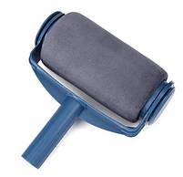Набор Paint Roller: валики для покраски углов и поверхностей, поднос, лоток и сборная ручка, синий, фото 3